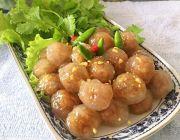 สาคูไส้หมู เจ้าอร่อย แม่กาย สาคูไส้หมู ขอนแก่น สูตรอร่อย สาคูไส้หมู แป้งนุ่ม หอม