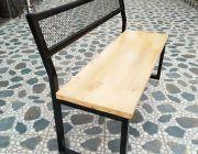 เก้าอี้พนักพิงเอียงยาว 120 cm โครงเหล็ก แข็งแรง สวยงาม