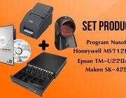 ชุด POS โปรแกรม NS EasyStore Professional+TM-U220AP Port+SK425RJ11+MS7120U
