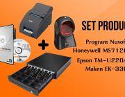 ชุด POS โปรแกรม NS EasyStore Professional+TM-U220AP Port+EK330RJ11+MS7120U