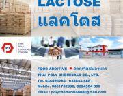 แลคโตส Lactose แลคโตสเกรดอาหาร Edible Lactose เกรดอาหาร วัตถุเจือปนอาหาร