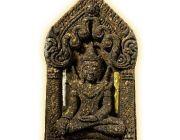 พระขุนแผนครูบาปองพล ฝังตะกรุดทองคำ-เงิน ปี๕๗