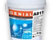 PU WATERPROOF A811 โพลียูรีเทน กันซึม สูตรน้ำ 100%