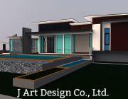 ออกแบบบ้าน ออกแบบและตกแต่งภายใน จัดสวน รับเหมาก่อสร้าง เชียงราย