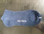 ถุงเท้าแบบสั้น สีเทา ด้วยนวัตกรรม ซิงค์ นาโน Zinc Nano