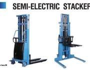 Semi Electric Stacker รถยกสูง แบบกึ่งไฟฟ้า
