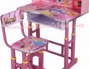 โต๊ะเขียนหนังสือเด็กปรับระดับได้